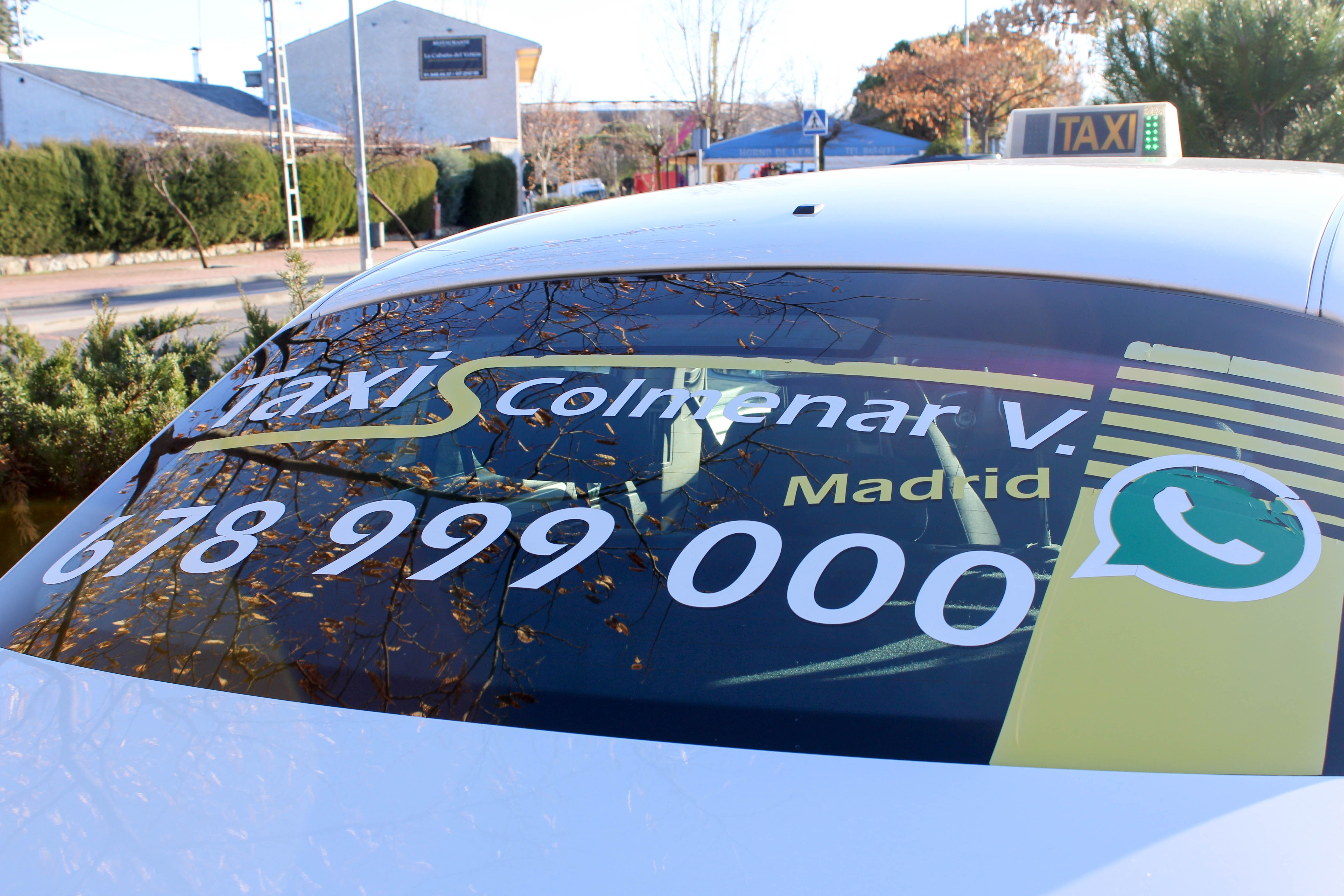 Foto 3 de Taxis en Colmenar Viejo   Radio-Taxi Colmenar
