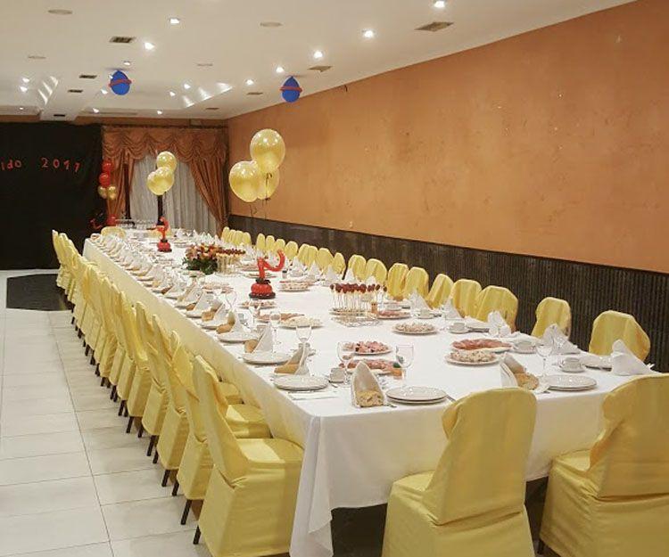 Restaurante para eventos en O Barco de Valdeorras, Ourense