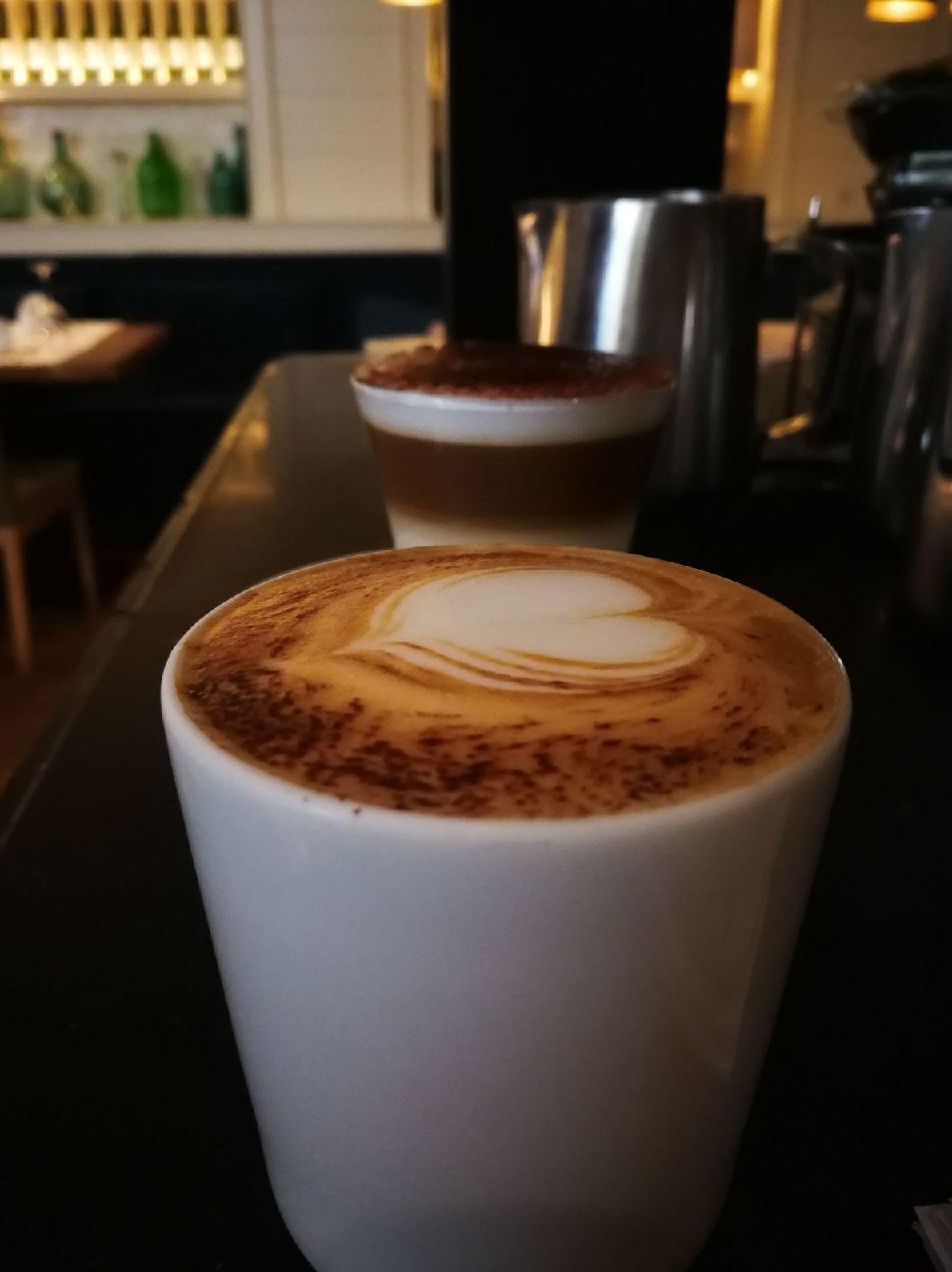 Café en Restaurante la Mary en León