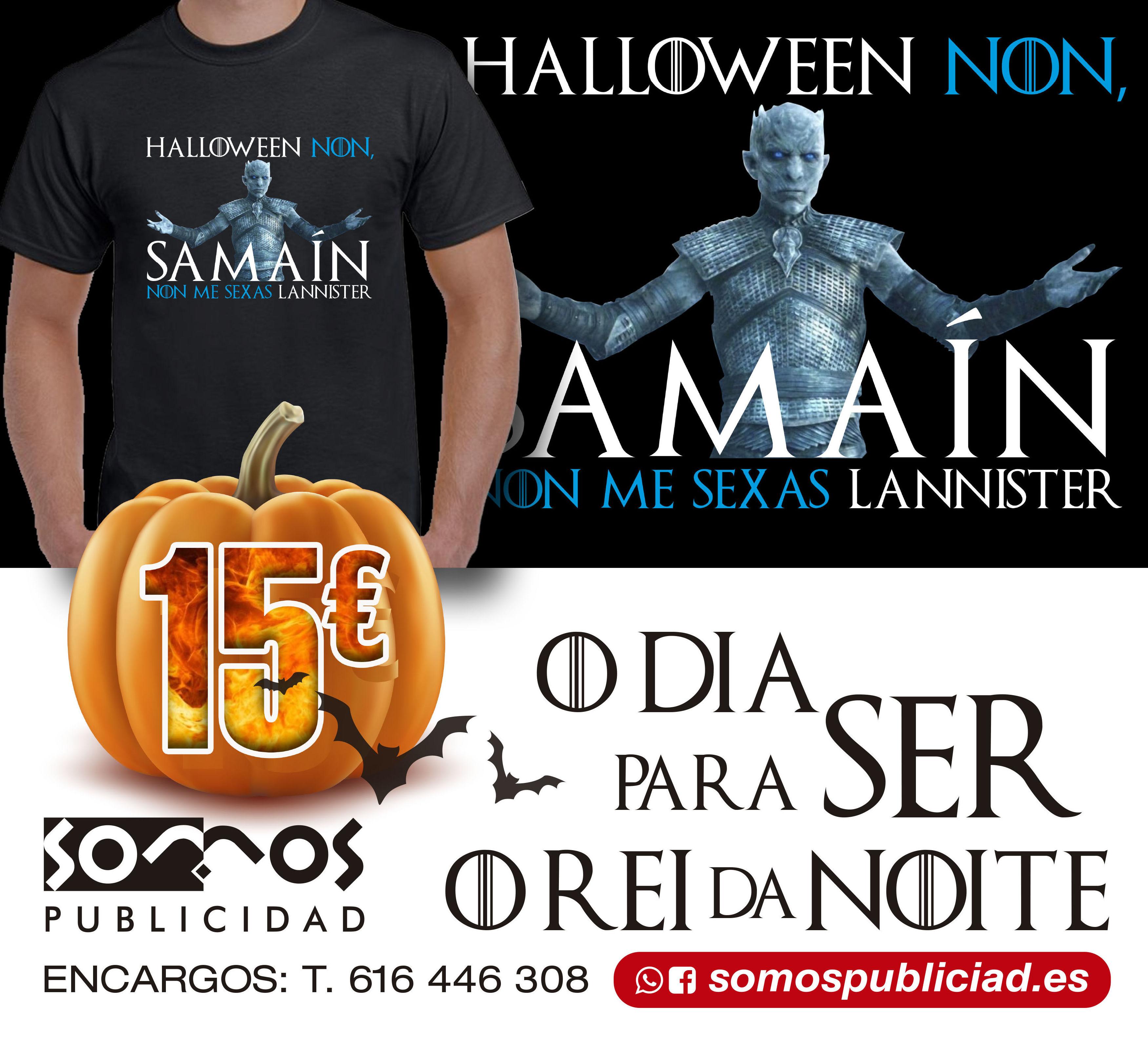 "CAMISETA SAMAIN ""non me sexas lannister"""
