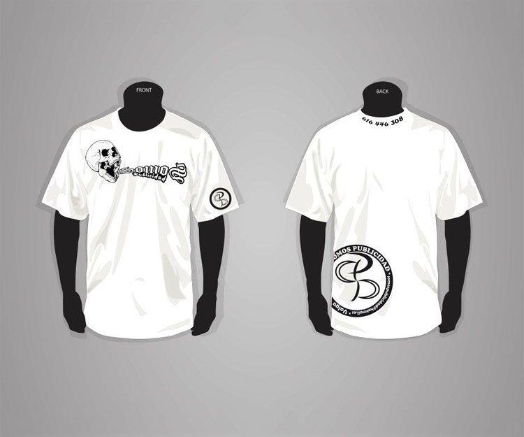 Camisetas serigrafiadas en Pontevedra