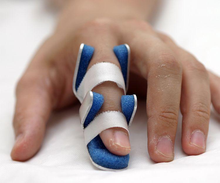 Artículos de ortopedia para los dedos