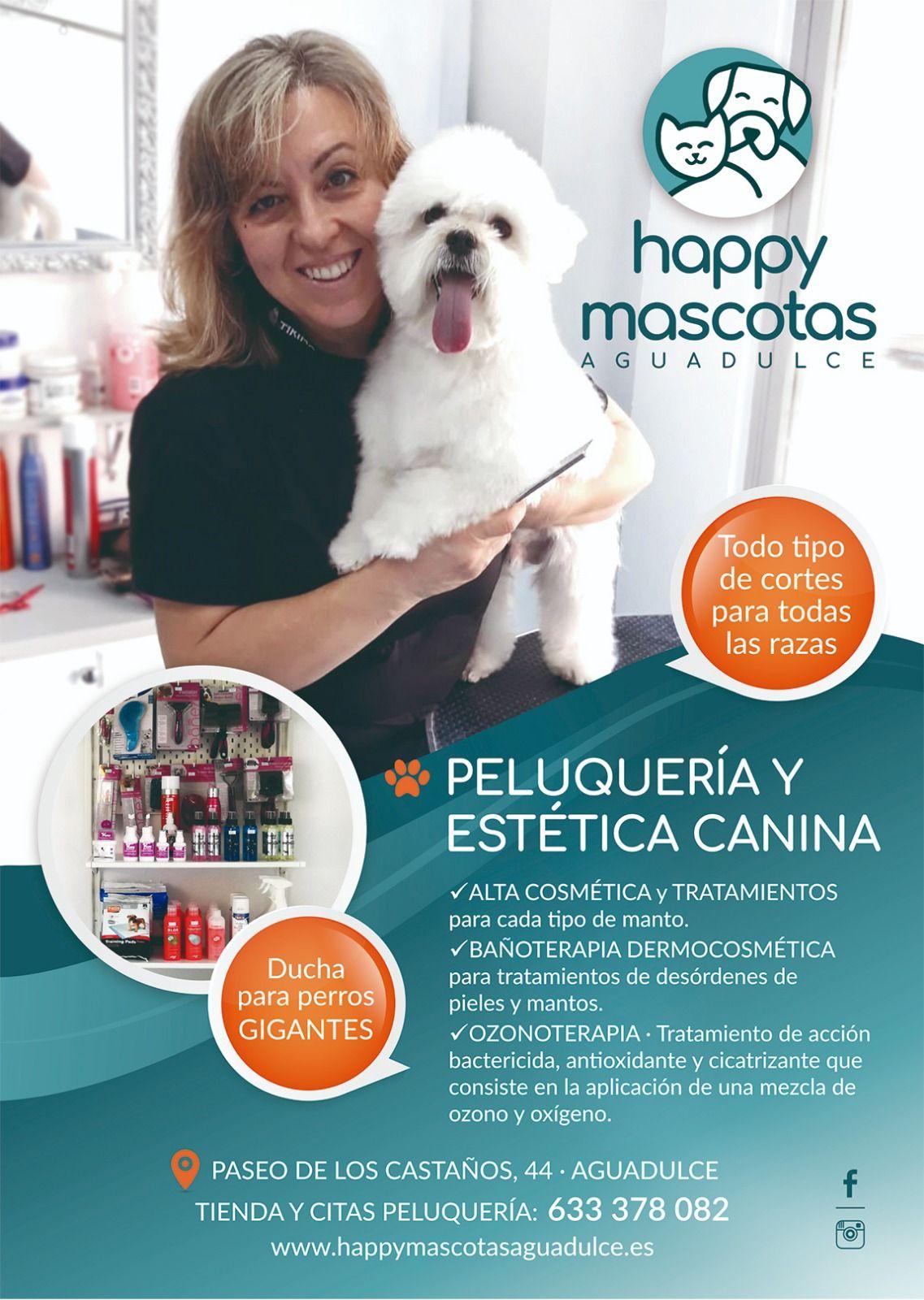 Peluquería canina en Aguadulce