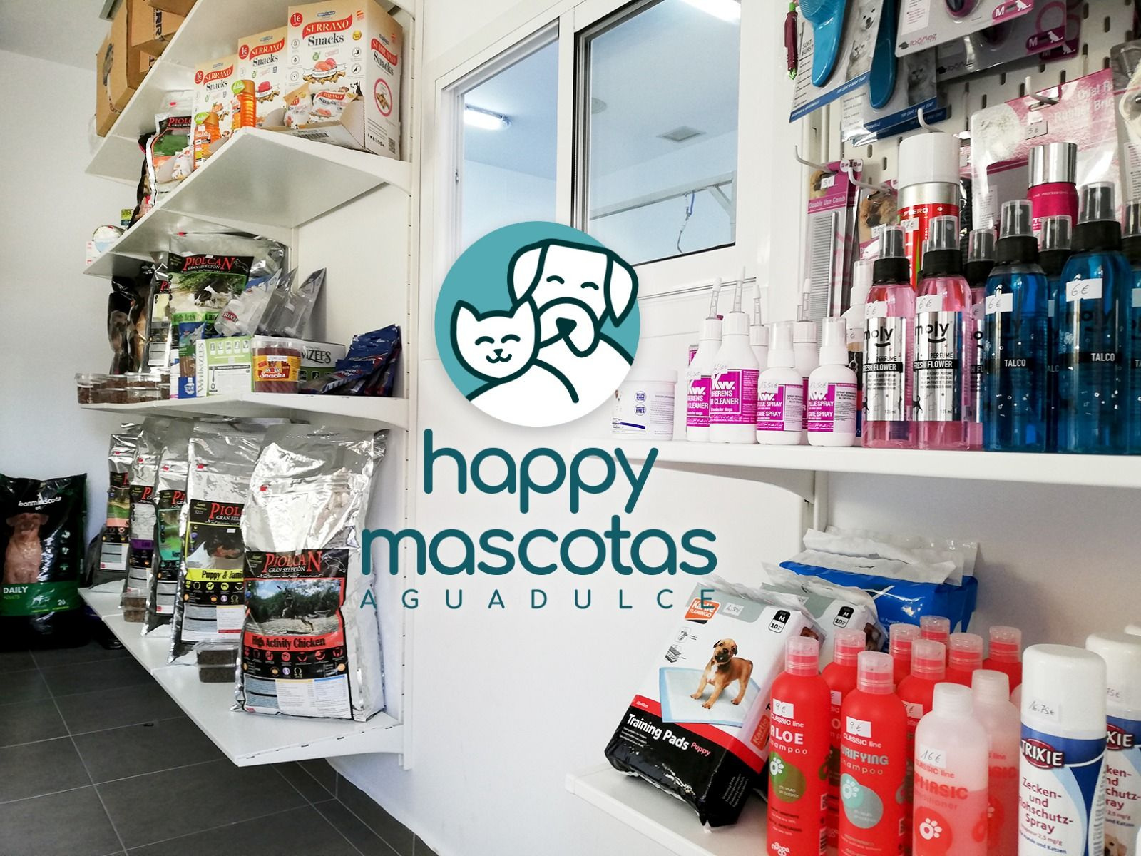 Tienda de mascotas en Aguadulce