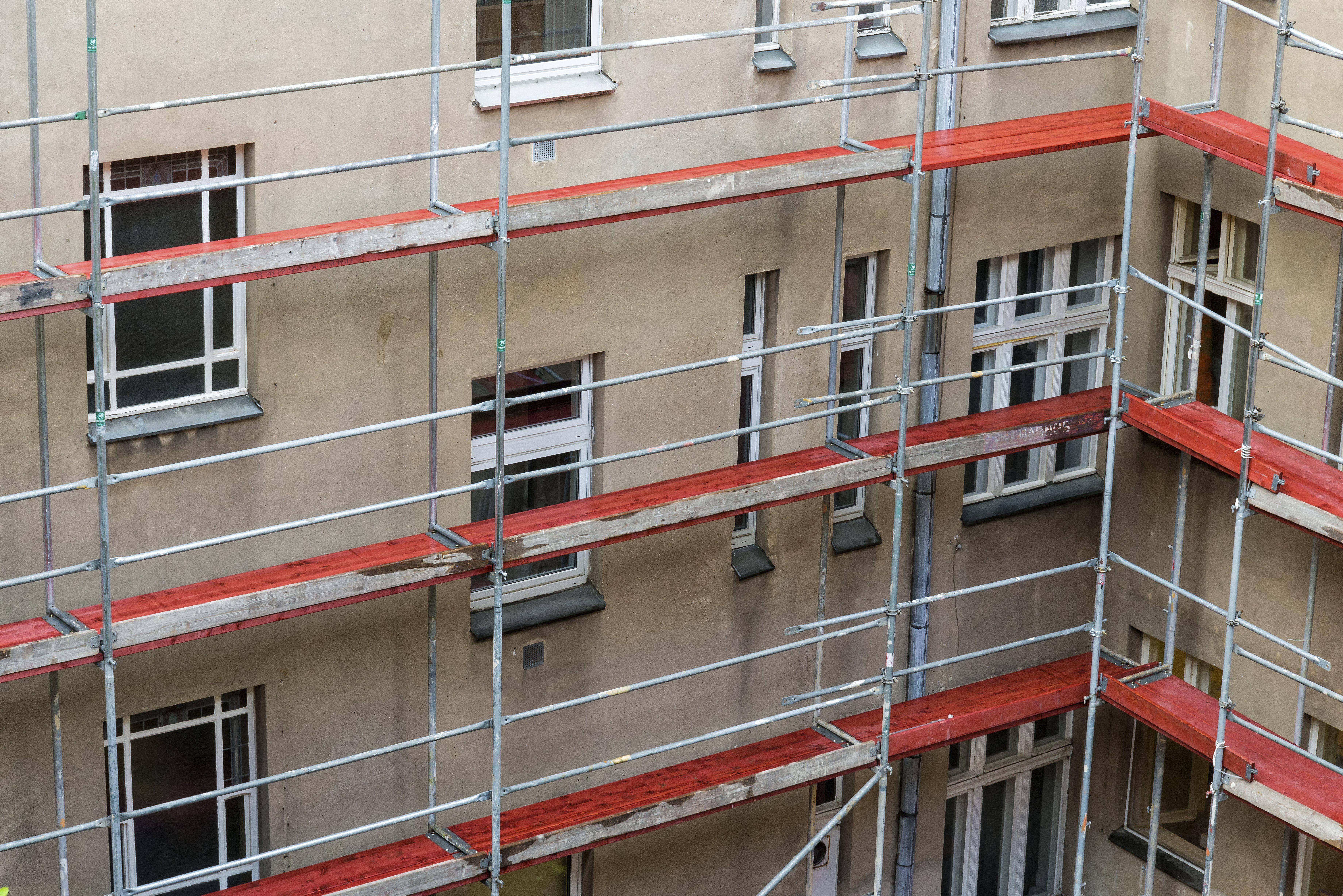 Rehabilitación de fachadas: Servicios de Anpi Construcciones