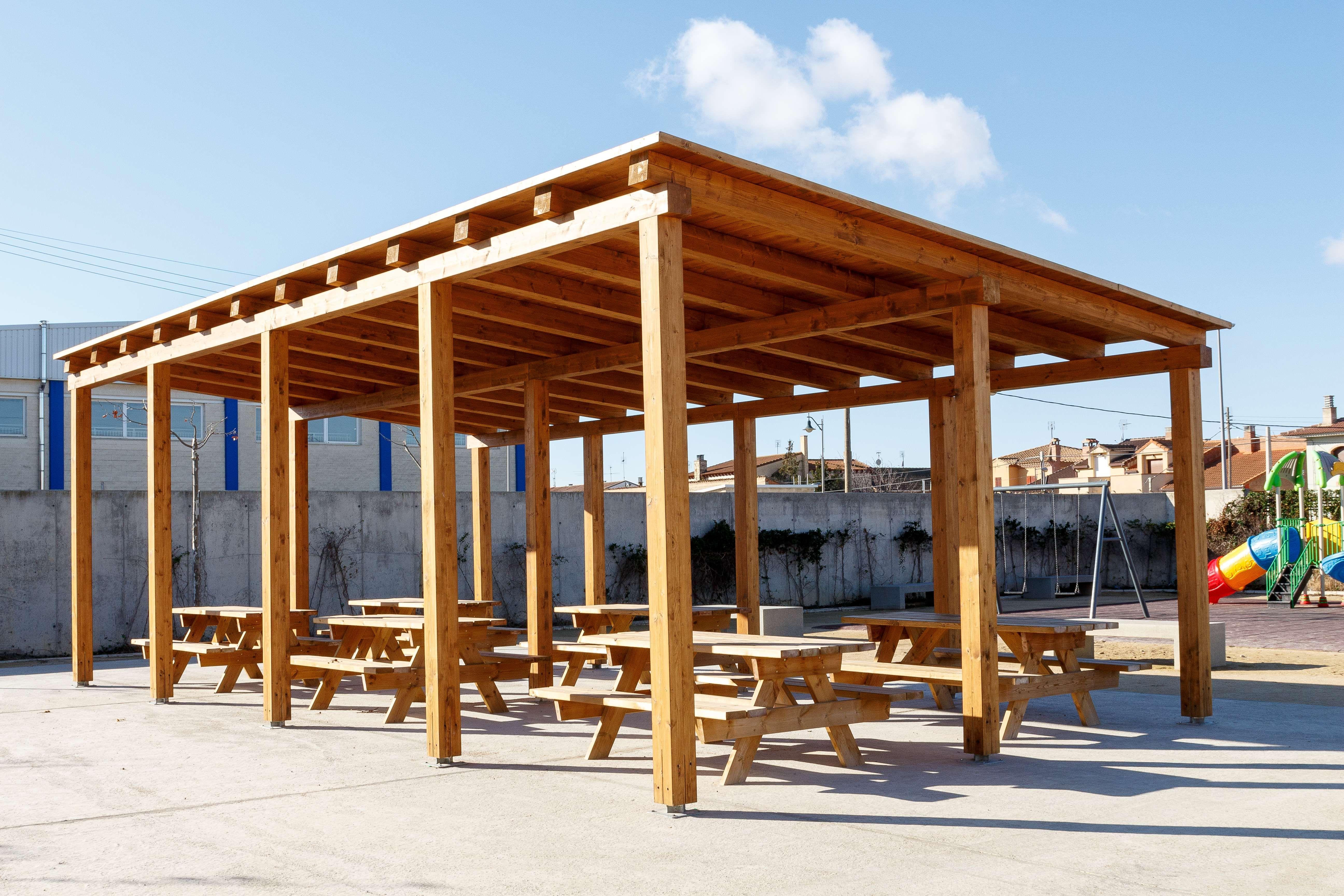 Foto 155 de Estructuras de madera en Zuera | Pirenaica Estructuras de Madera