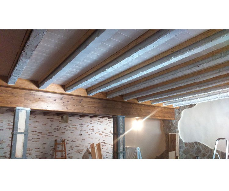 Foto 119 de Estructuras de madera en Zuera   Pirenaica Estructuras de Madera