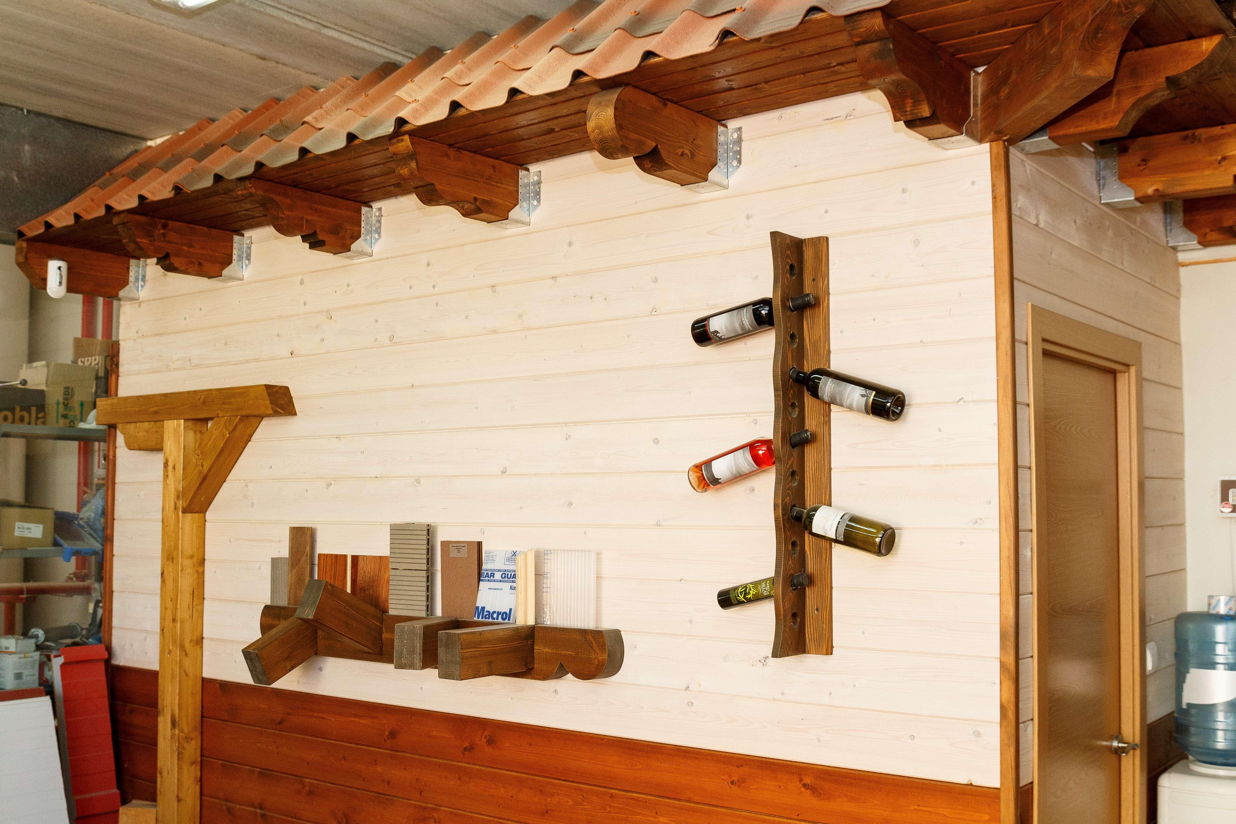 Equipamientos de madera en Aragón