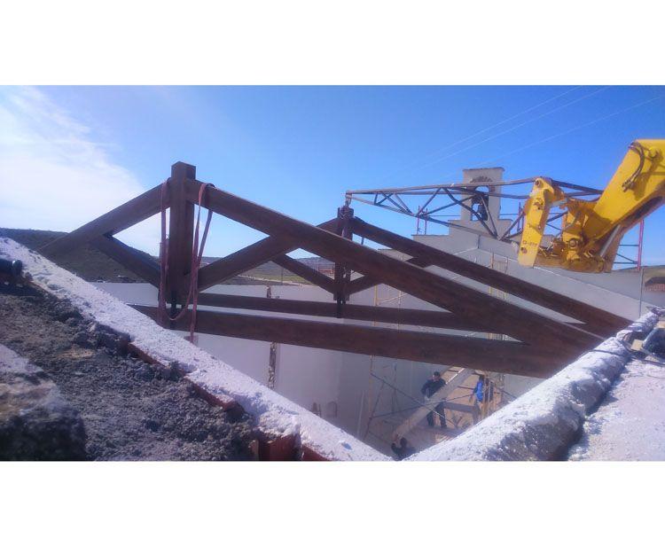 Foto 146 de Estructuras de madera en Zuera | Pirenaica Estructuras de Madera