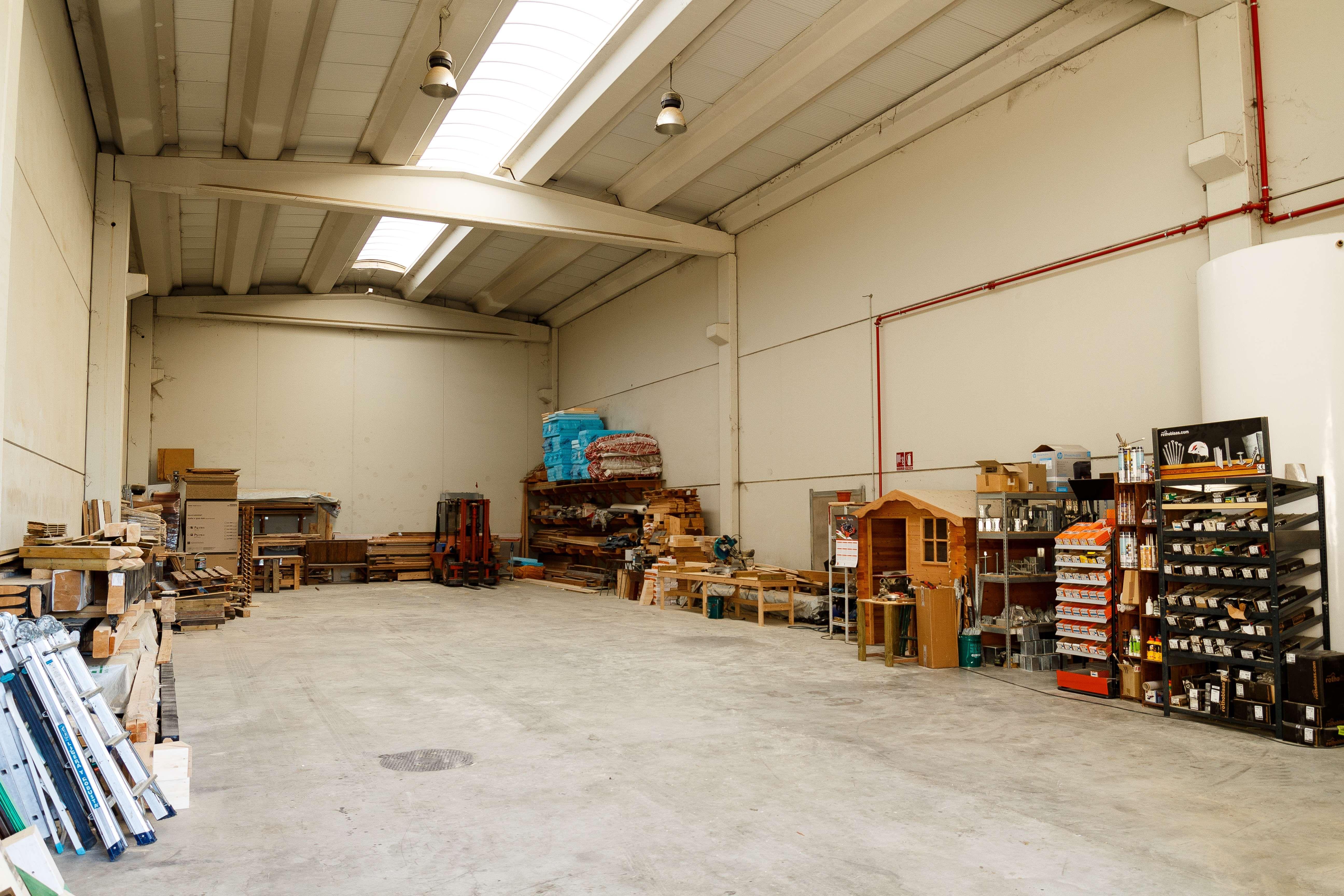 Montaje de equipamientos de madera en Aragón