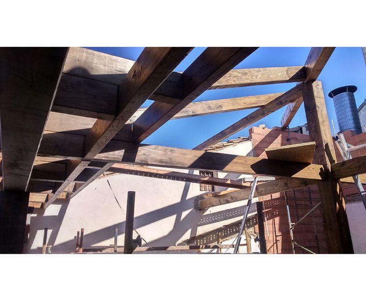 Estructuras en madera para tejados