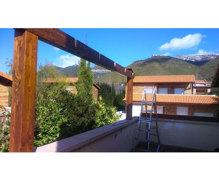 Foto 72 de Estructuras de madera en Zuera | Pirenaica Estructuras de Madera