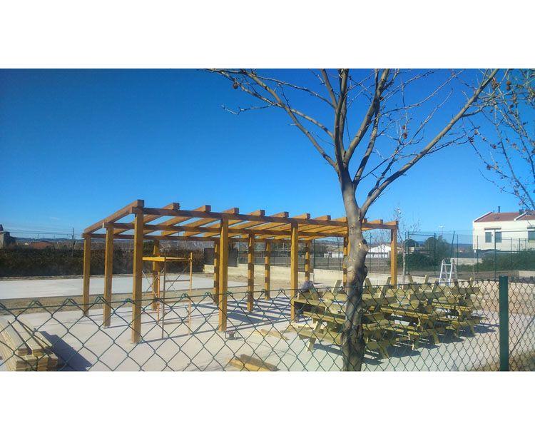 Foto 83 de Estructuras de madera en Zuera | Pirenaica Estructuras de Madera