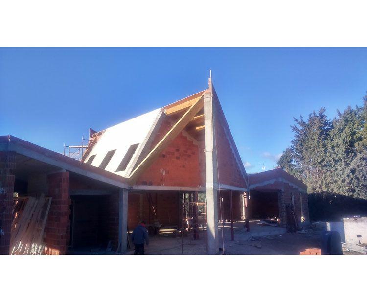 Foto 151 de Estructuras de madera en Zuera | Pirenaica Estructuras de Madera