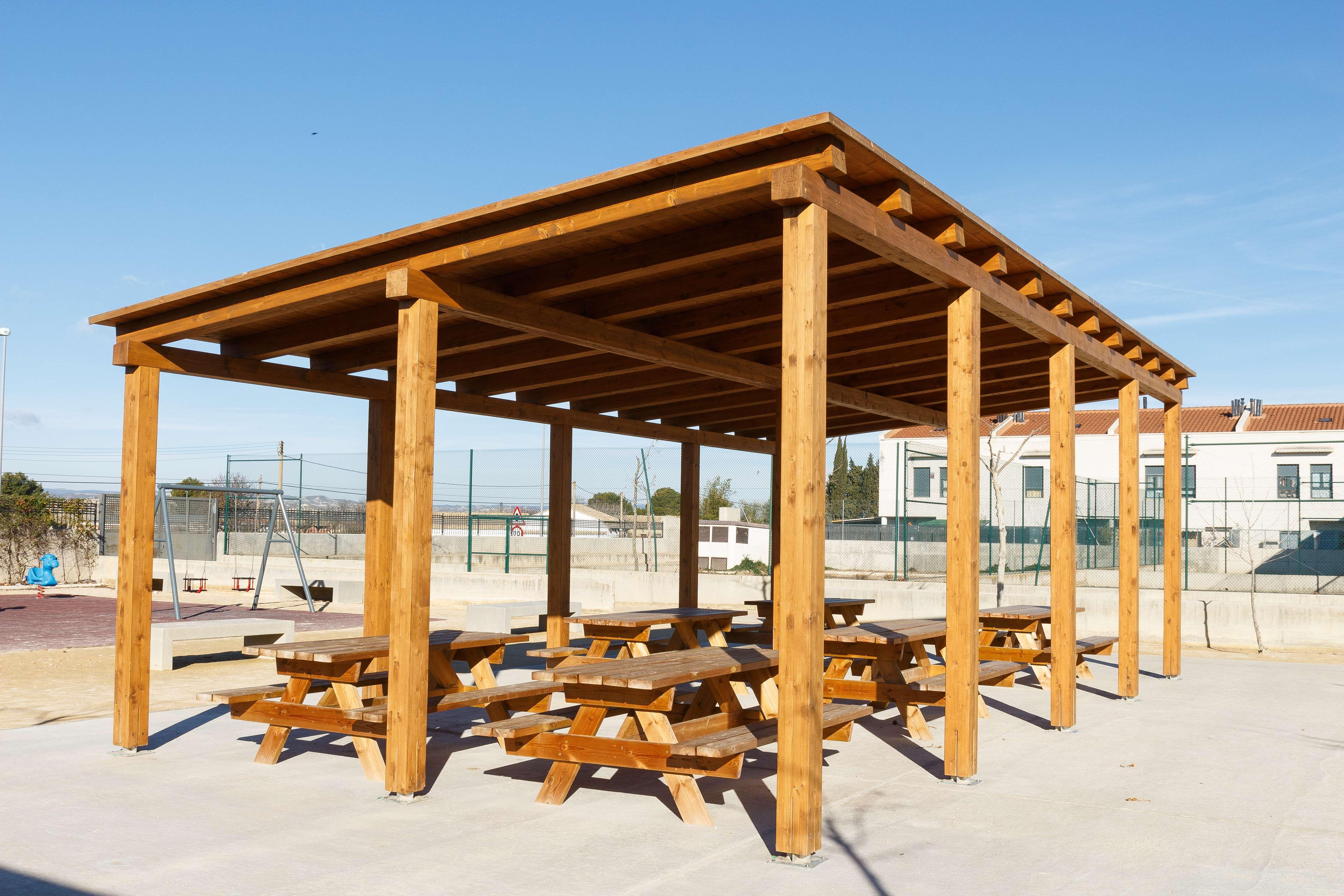 Estructuras de madera en Aragón