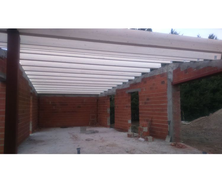 Foto 152 de Estructuras de madera en Zuera | Pirenaica Estructuras de Madera
