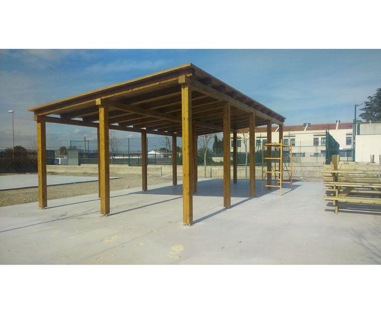 Foto 80 de Estructuras de madera en Zuera | Pirenaica Estructuras de Madera