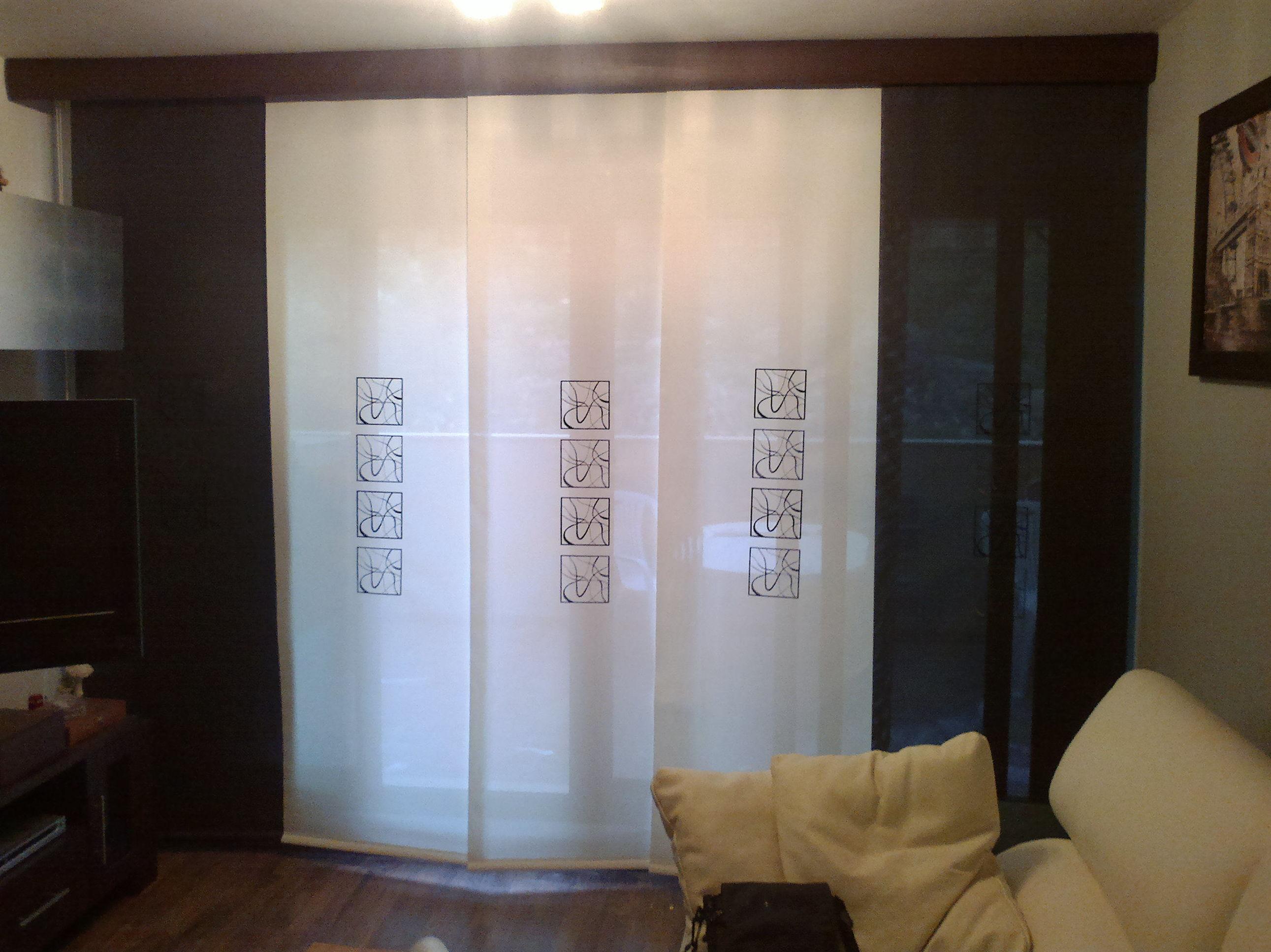 Panel japonés instalado en Alicante