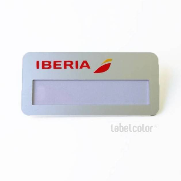 Placa de Identificación de ventana para Iberia
