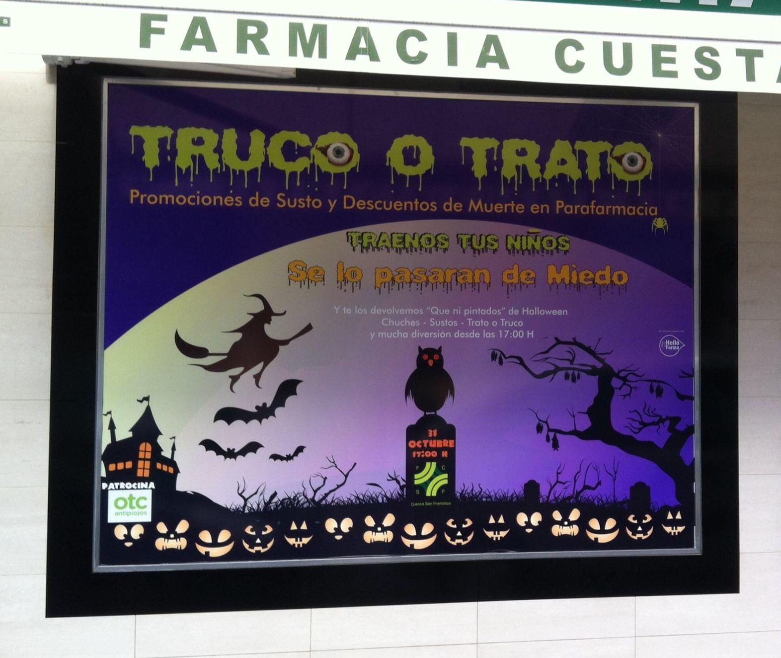 Vinilo Impreso Halloween