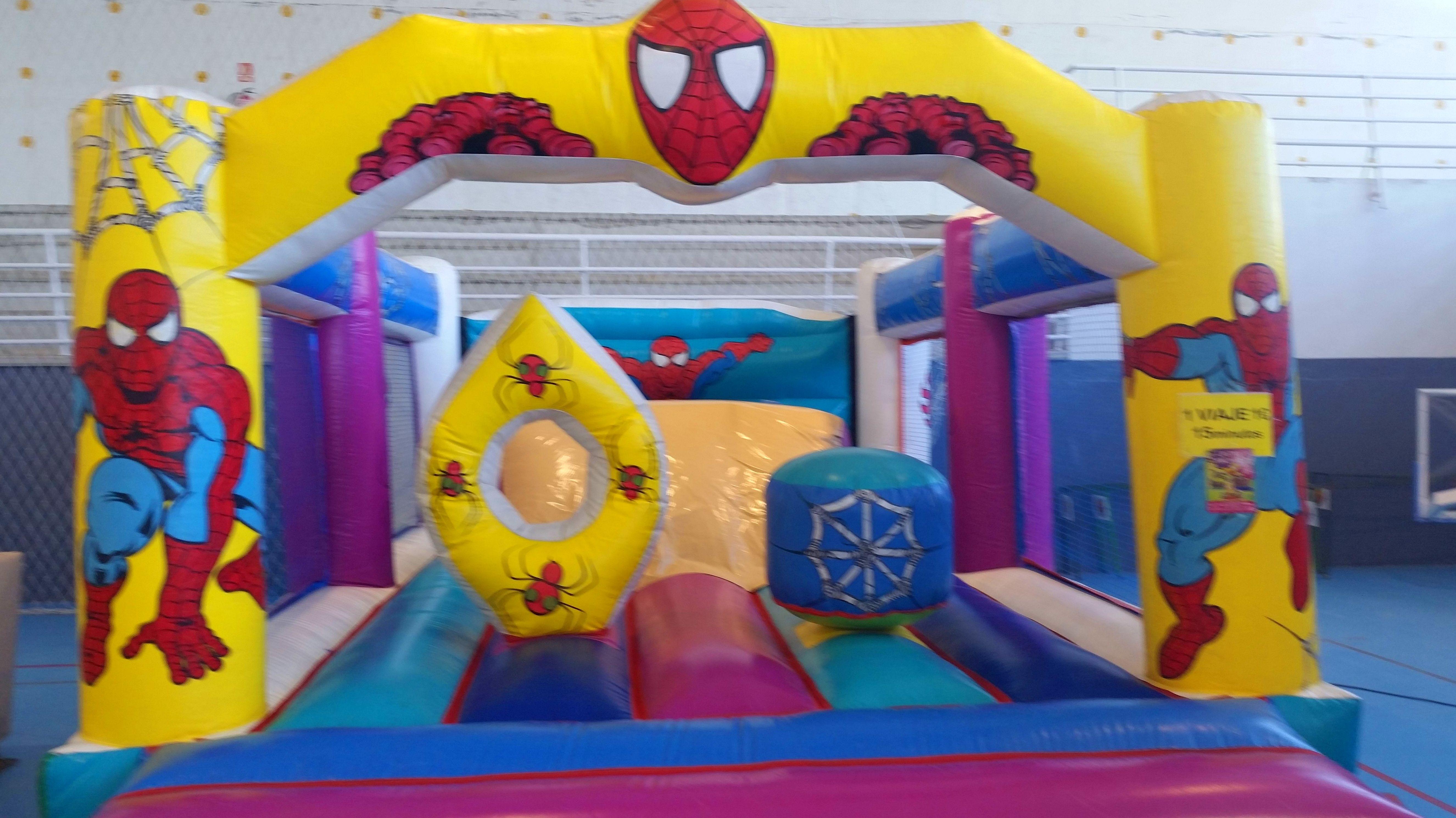 spiderman mediano 5 por 7 m
