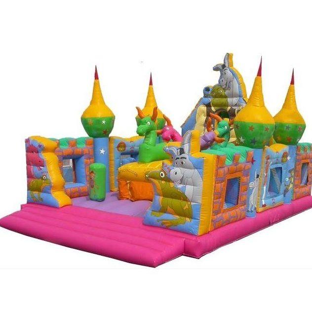Castillos grandes : Alquiler de Castillos de De Colores Castillos Hinchables