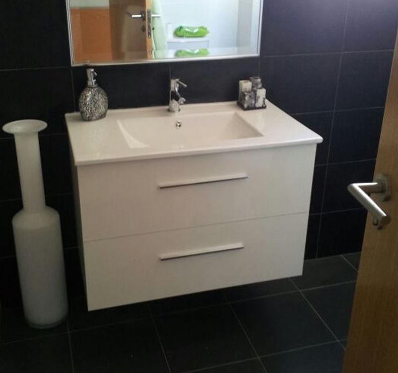 Instalar mueble de lavabo