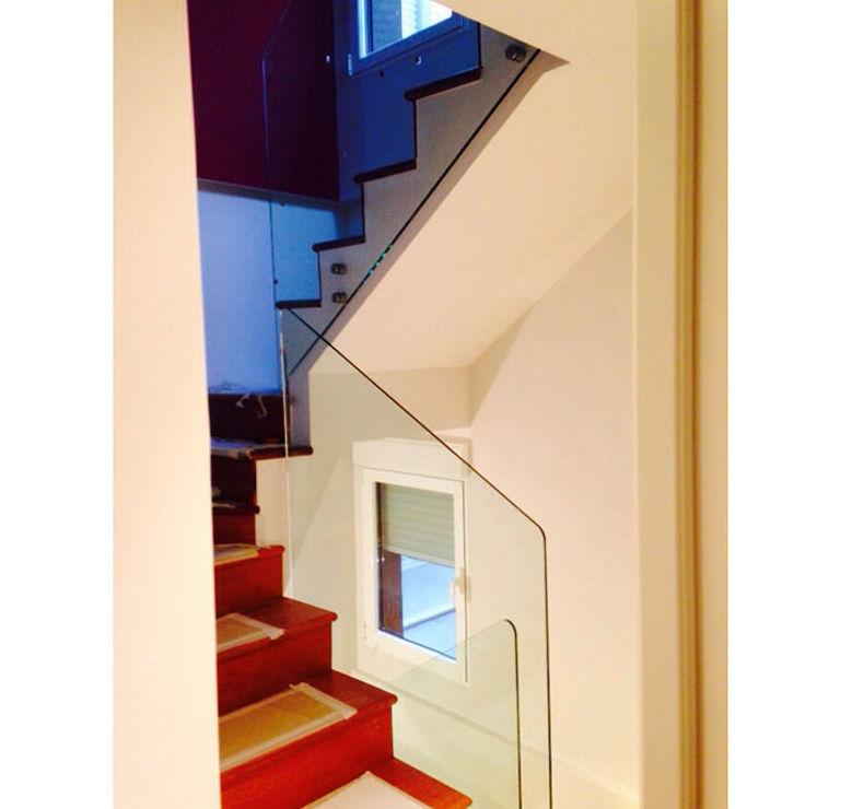 Acristalamiento de escaleras