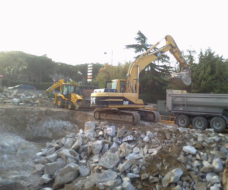 Empresa de excavaciones y derribos