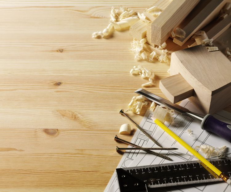 Estanterías de madera