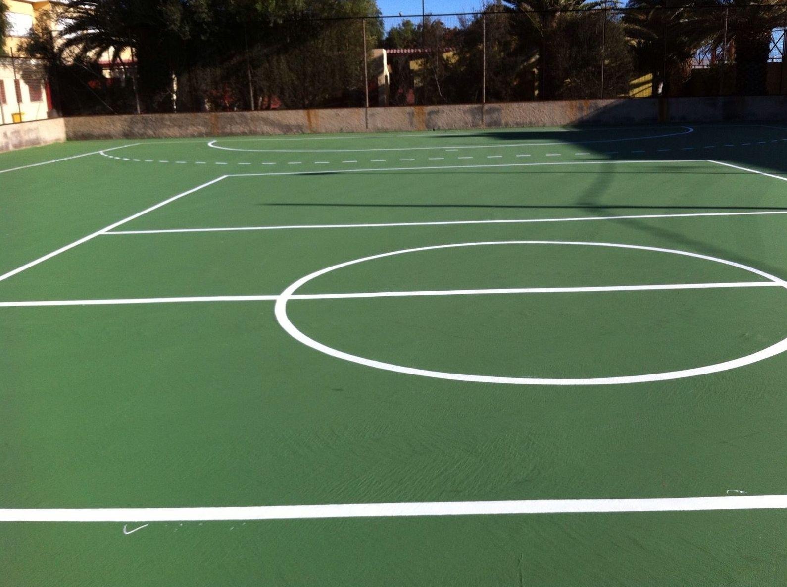 Pavimento pistas de tenis. Imperislas