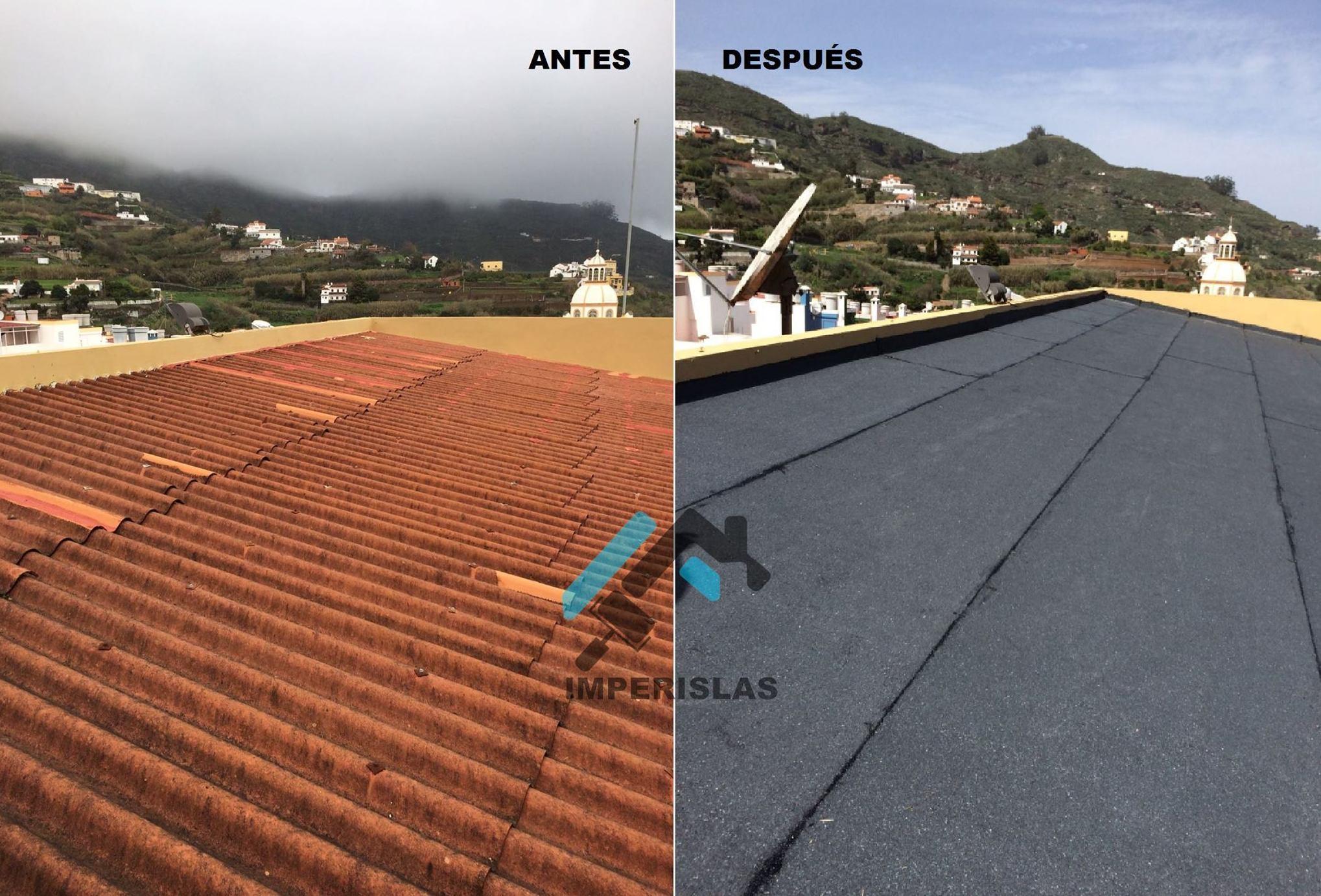 Reparacion  de tejado Las Palmas