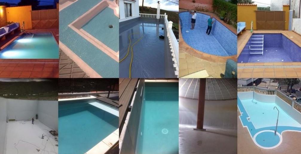 Trabajos en piscinas