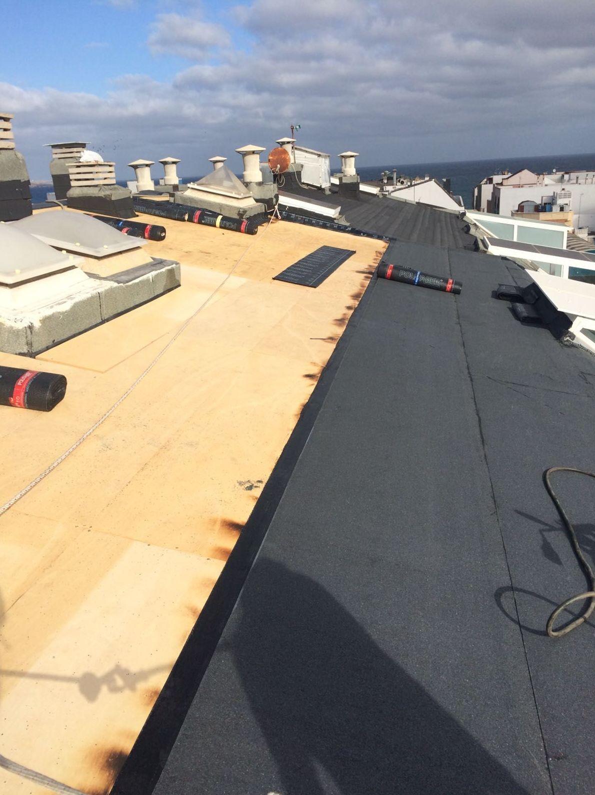 aislamiento de tejados Tenerife