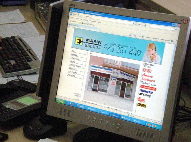 Servicio técnico: Nuestros servicios de Marin Servei Tècnic, S.L.