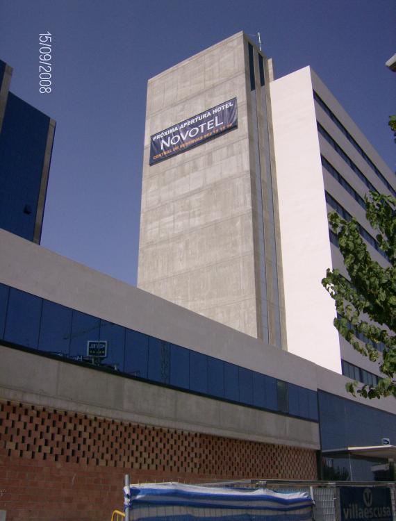 Instalación 6 Salas AUDIOVISUALES Novotel Murcia