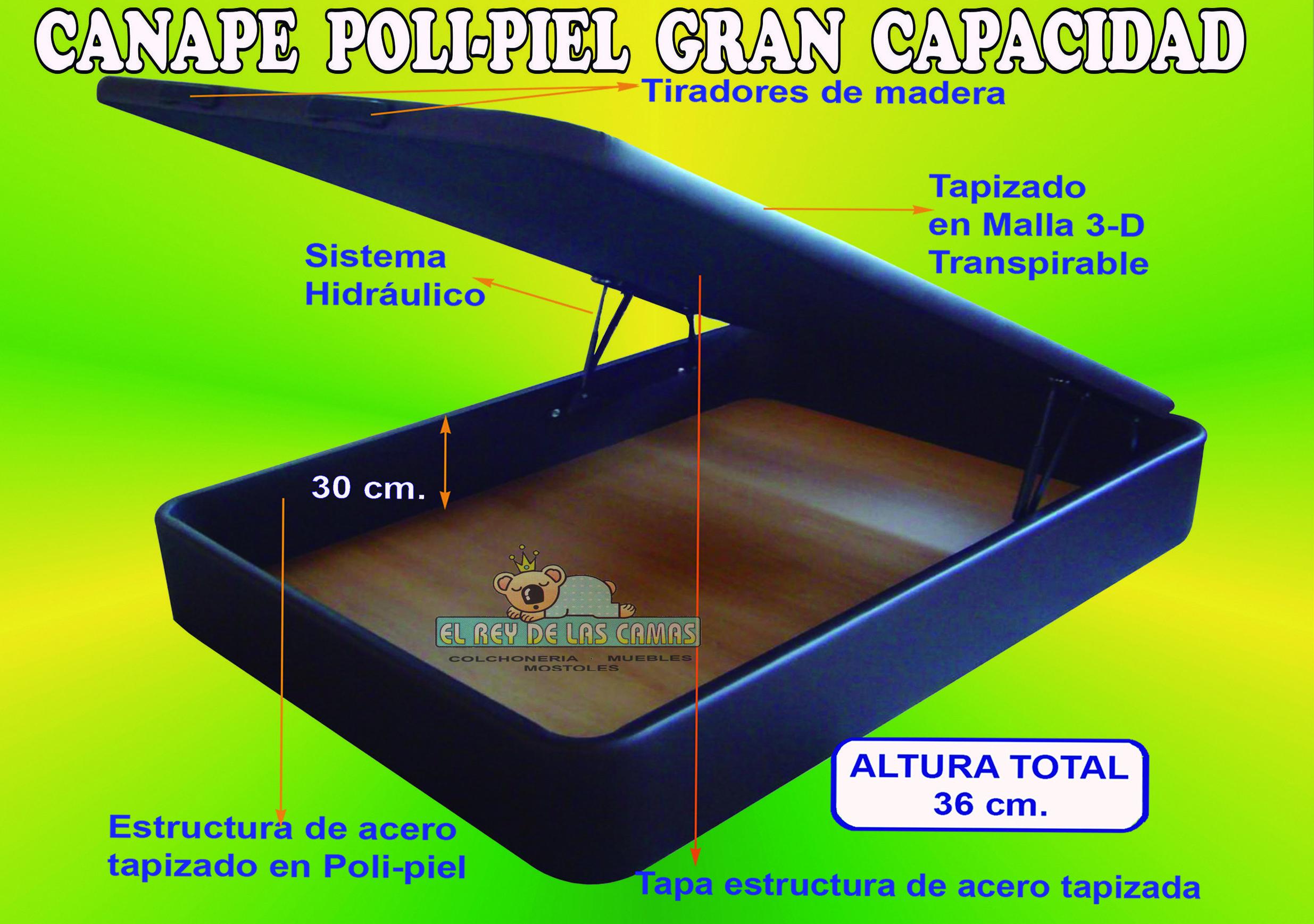CANAPE ABATIBLE MAXI-BOX