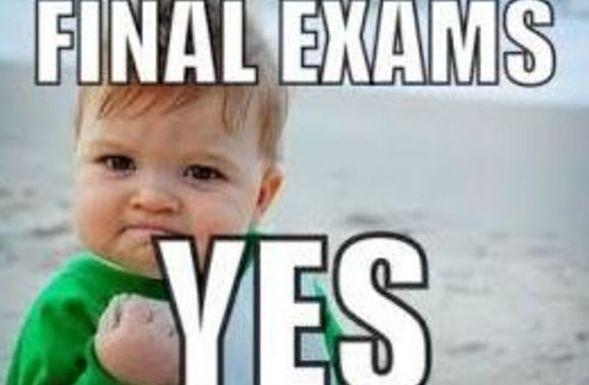 Clases de repaso para los exámenes finales