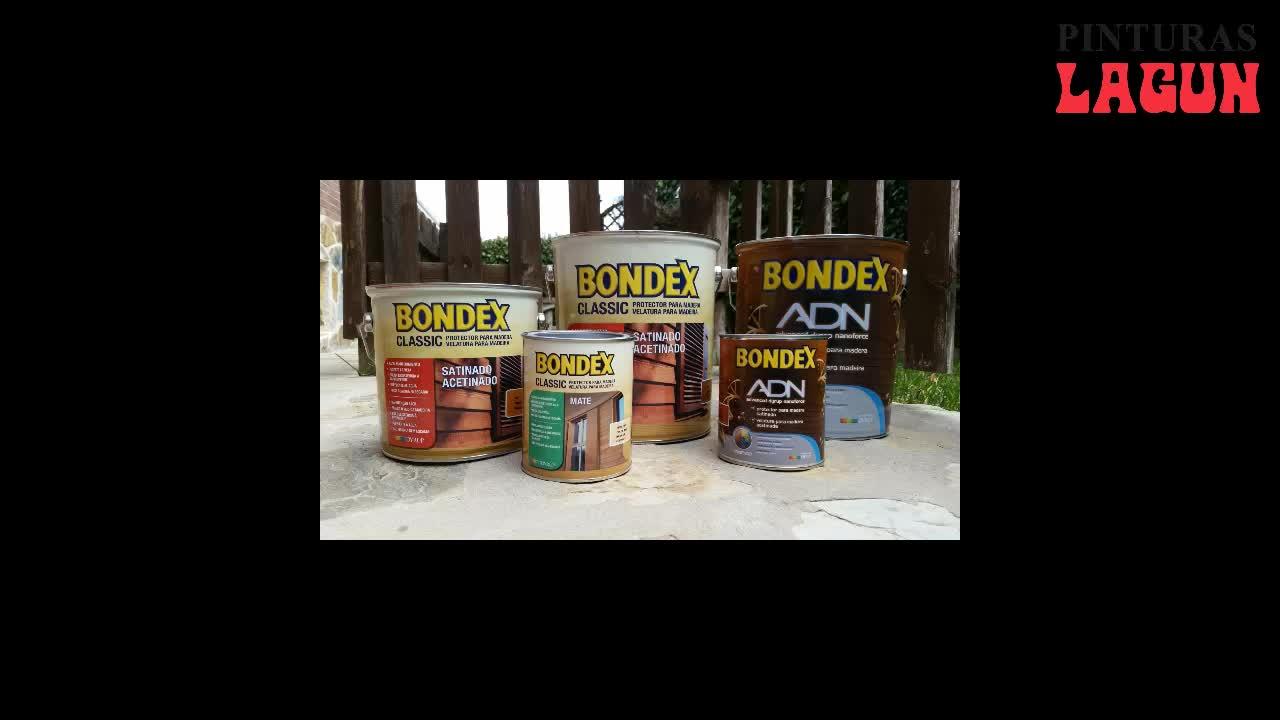 Bondex Classic y Bondex ADN al agua }}