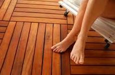 Tarima tropical con Bondex Deck