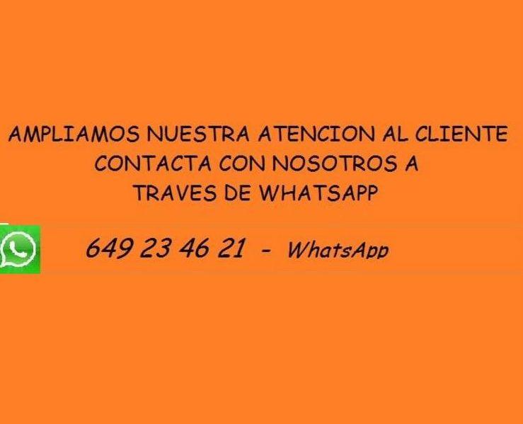 Atención al cliente y Avisos on-line