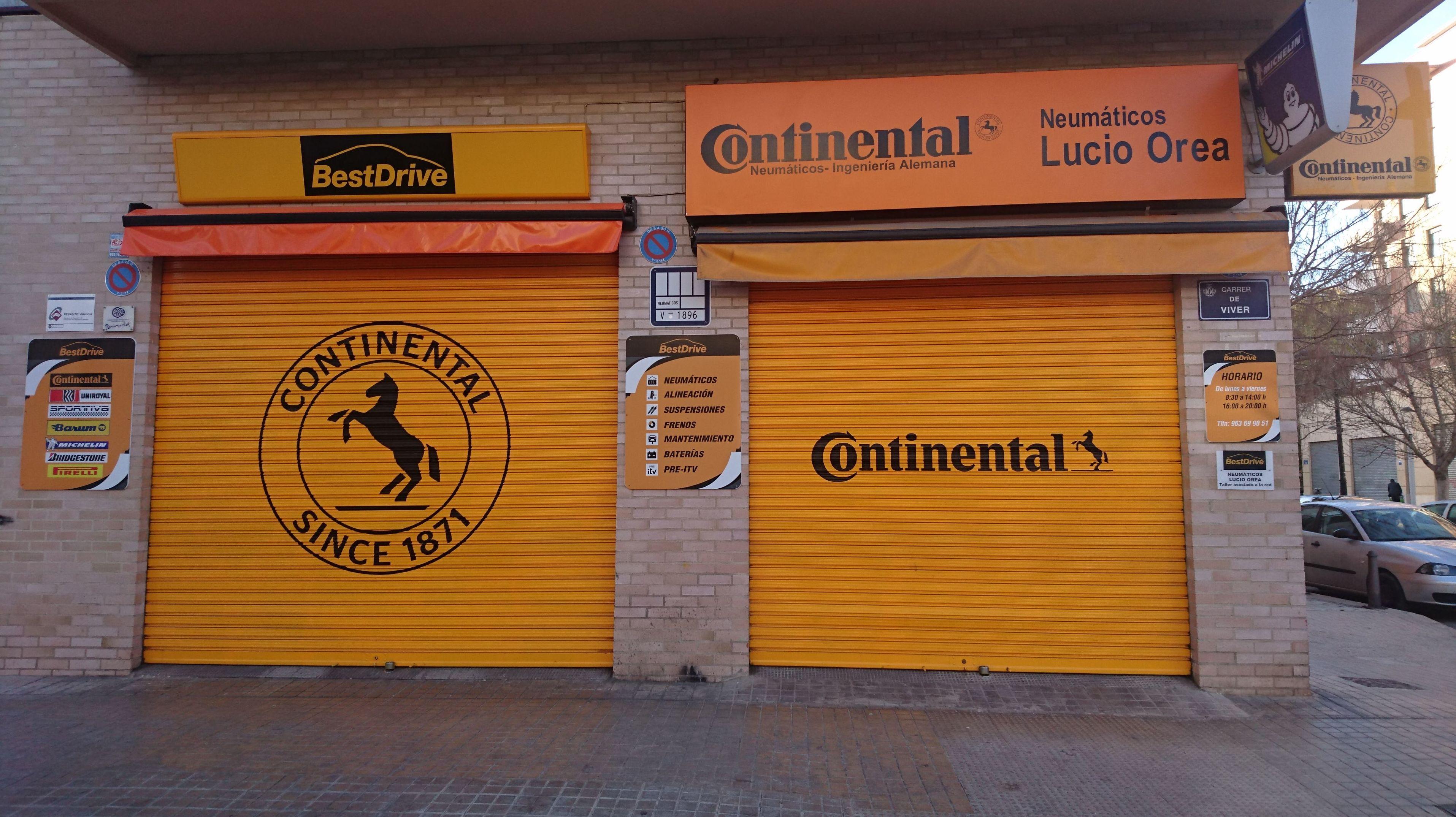 Foto 1 de Neumáticos en Valencia | Neumáticos Lucio Orea