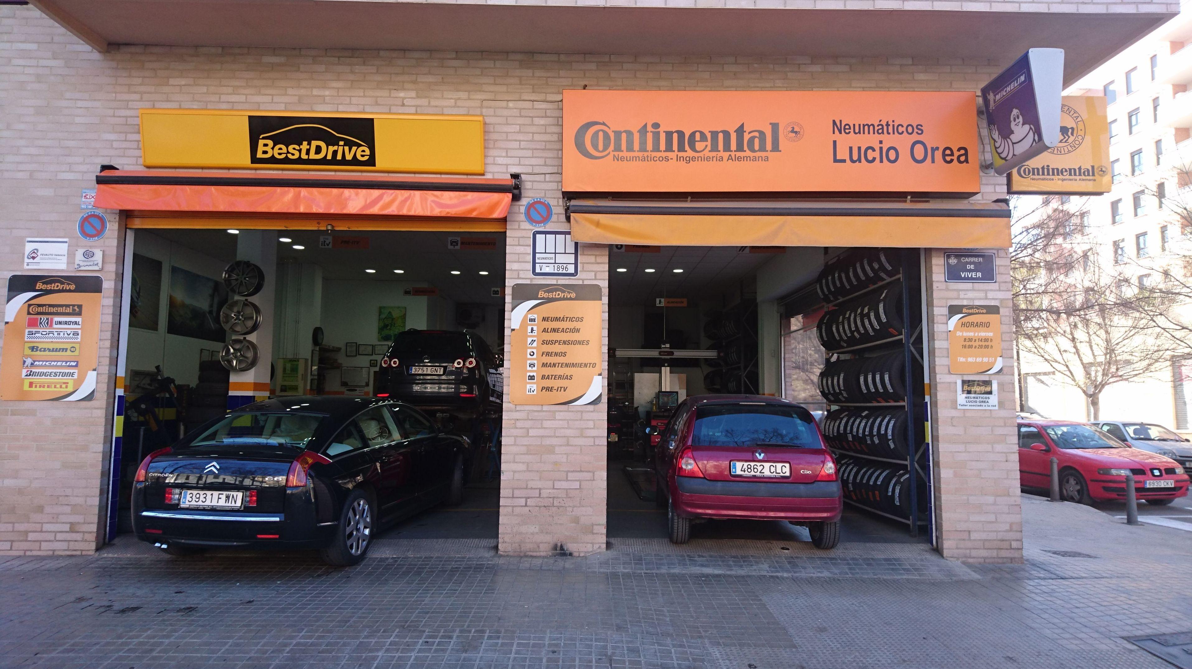 Foto 2 de Neumáticos en Valencia | Neumáticos Lucio Orea