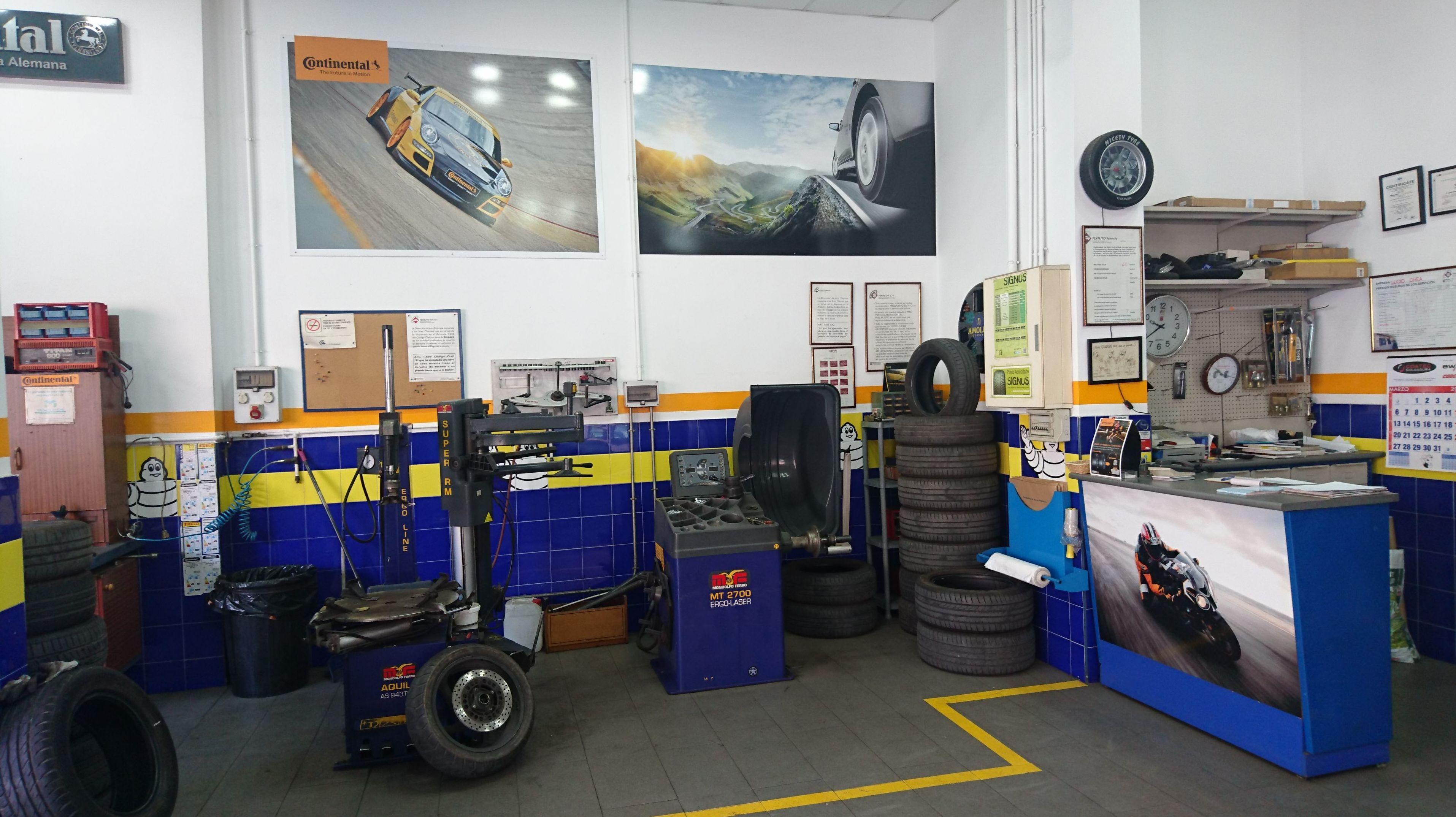Foto 3 de Neumáticos en Valencia | Neumáticos Lucio Orea