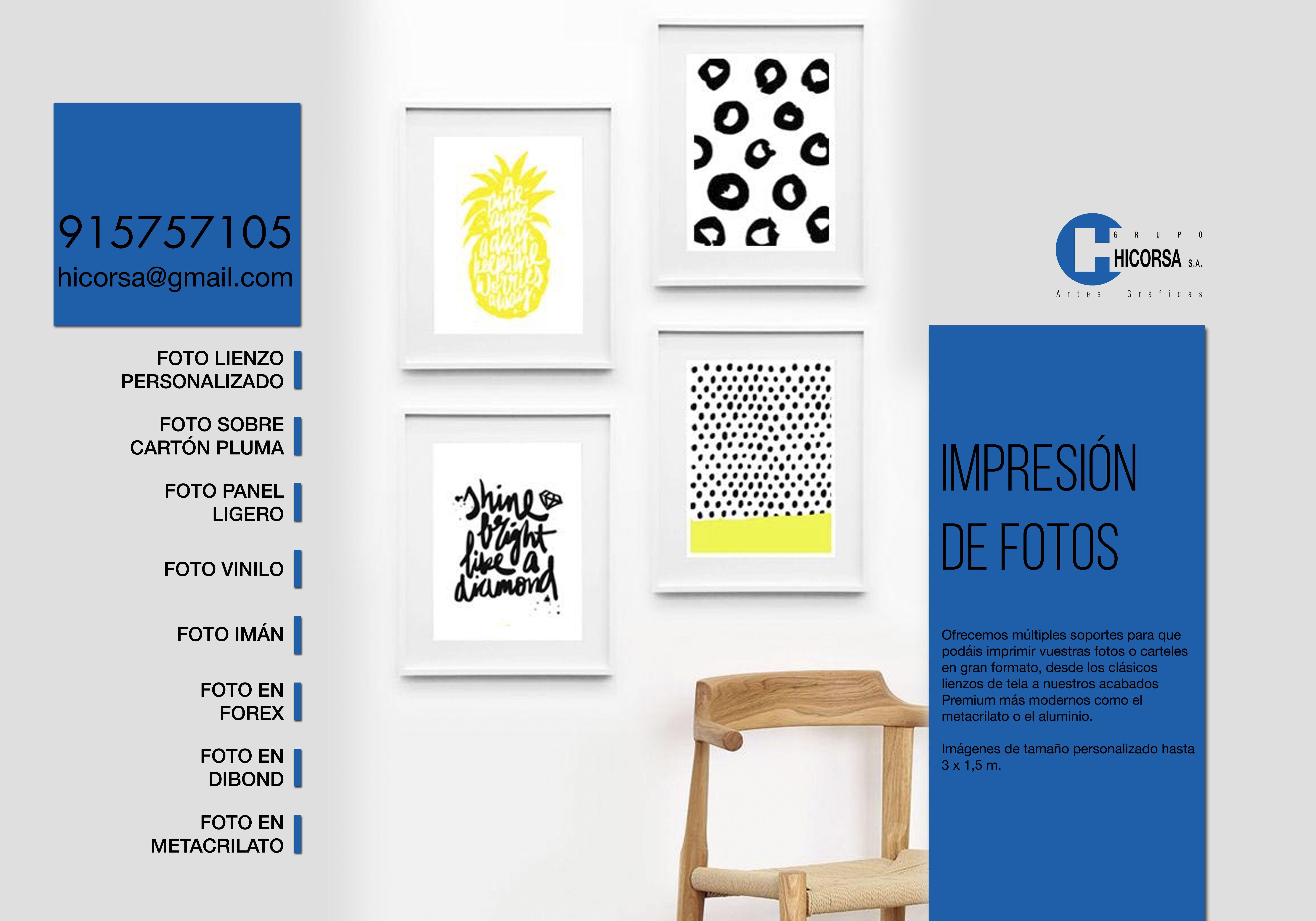 Foto 4 de Artes gráficas en Madrid | Grupo Hicorsa