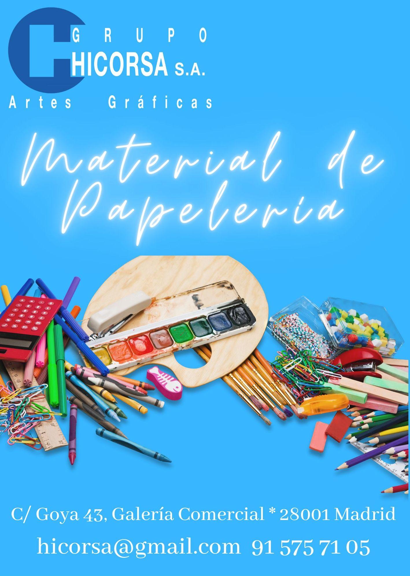Foto 2 de Artes gráficas en madrid | Hicorsa