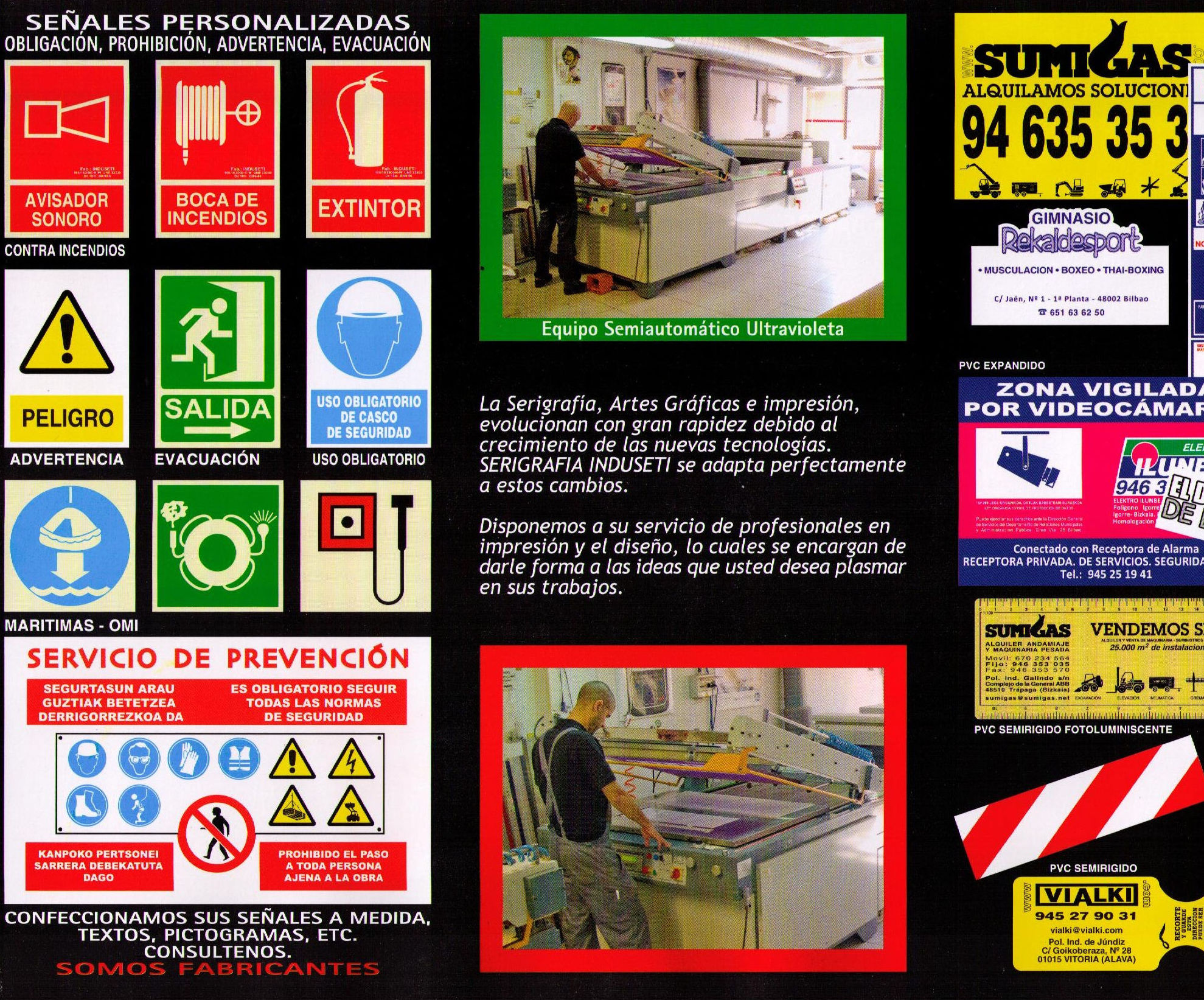 Empresa señalizacion Bilbao