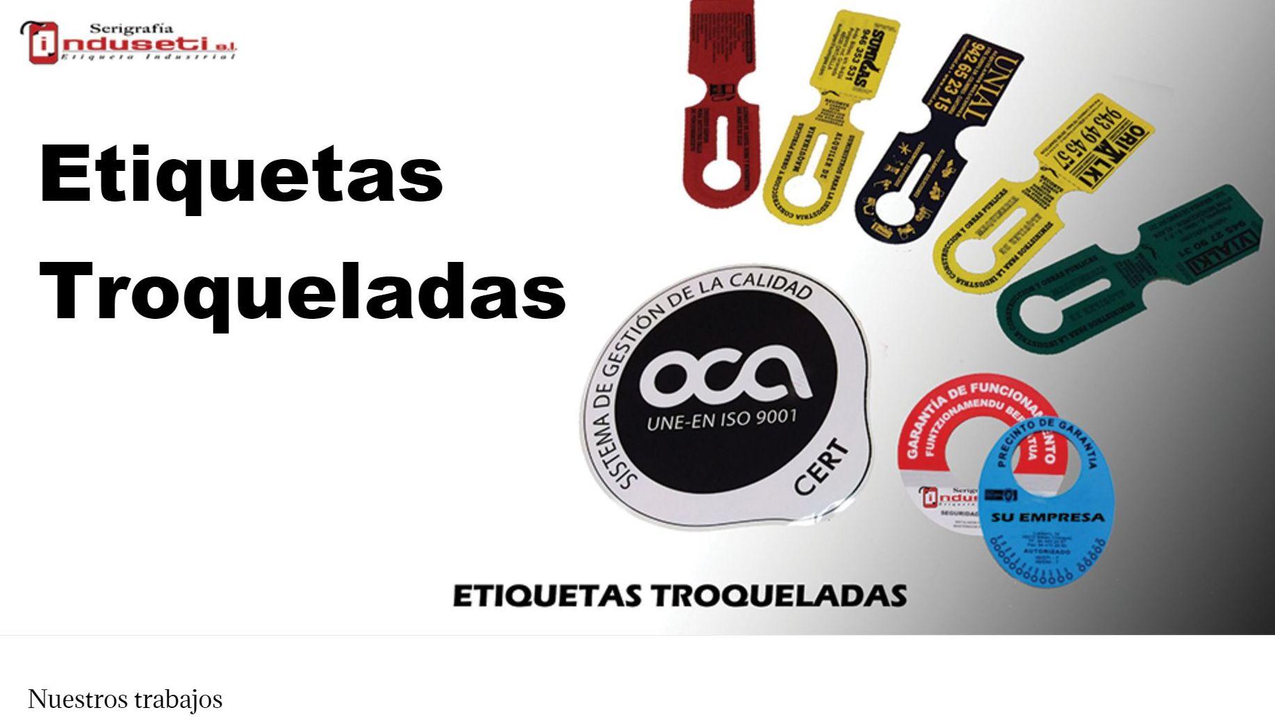 Etiquetas Troqueladas en Bilbao