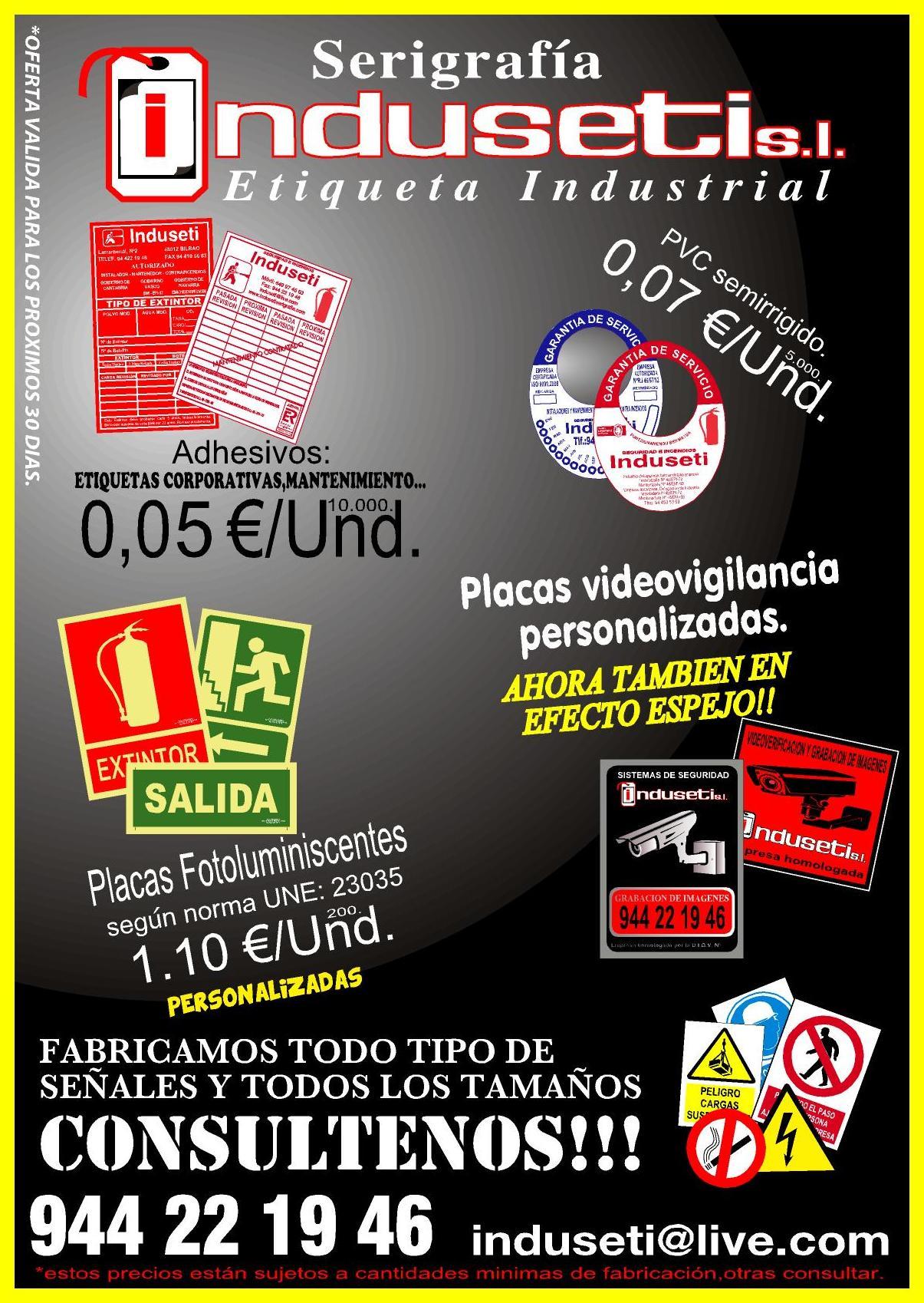 Empresa de rótulos en Bilbao
