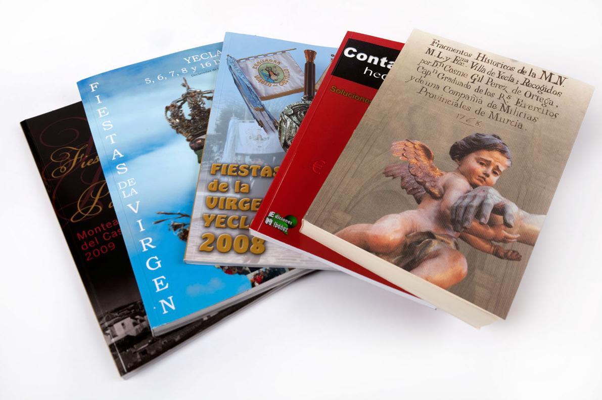 Servicios de impresión & encuadernación: Servicios de Yeclagrafic, S.L.